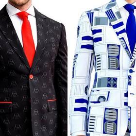 Ubierz się w garnitur z motywem Dartha Vadera lub R2-D2