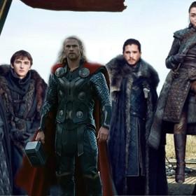"""Wygląd Thora z """"Mrocznego świata"""" miał być inspirowany """"Grą o tron"""""""