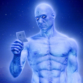 Dr Manhattan (Billy Crudup)