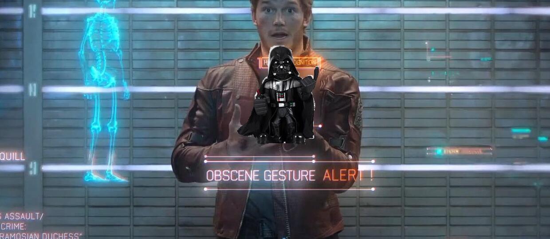 Zamiast walkmana Star-Lord miał mieć… zabawkę Dartha Vadera