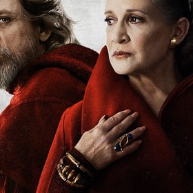 Luke Skywalker i Leia Organa
