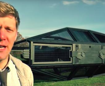 Znany youtuber stworzył replikę statku Kylo Rena