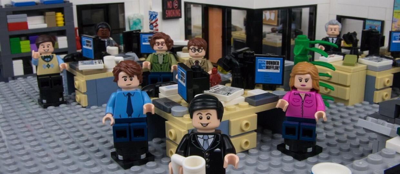 """Zobaczcie biuro z serialu """"The Office"""" w wersji LEGO"""
