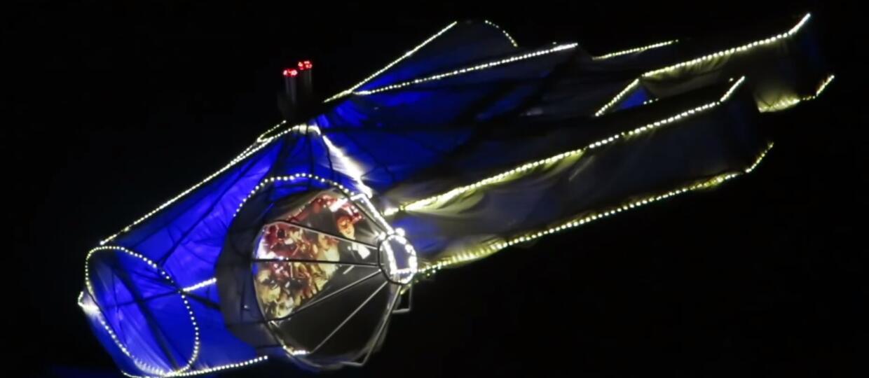 Zobaczcie świąteczne dekoracje z Sokołem Millenium w roli głównej