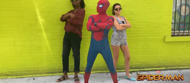 Zrób sobie selfie ze Spider-Manem za pomocą aplikacji Holo