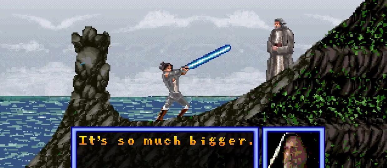 """Zwiastun """"The Last Jedi"""" w 8-bitowej wersji"""
