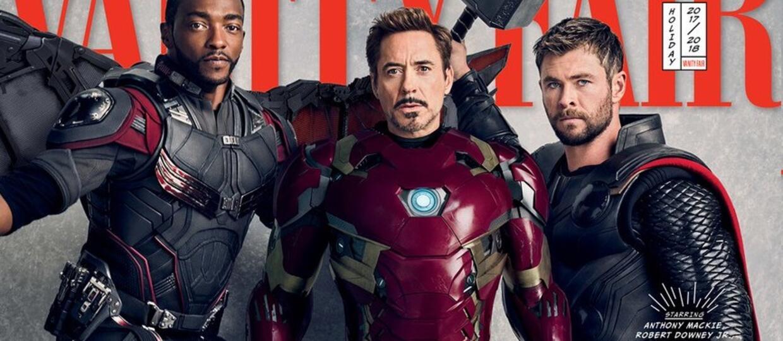 """17 superbohaterów Marvela na okładkach z okazji 10-lecia MCU zapowiada premierę """"Avengers: Infinity War"""""""