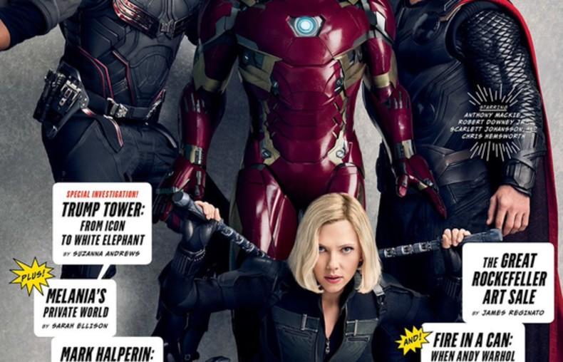 Superbohaterowie Marvela na okładkach Vanity Fair z okazji 10-lecia MCU