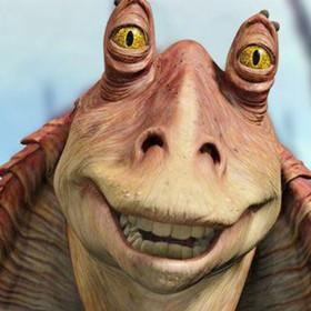 Aktor grający Jar Jara Binksa chciał, by George Lucas uśmiercił jego postać