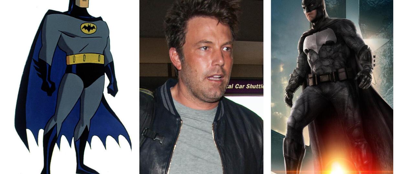 Animowany Batman uważa Afflecka za najlepszego Bruce'a Wayne'a