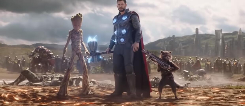 Thor, Rocket i Groot