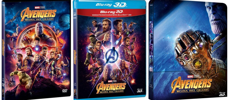 Avengers Infinity War Na Dvd I Blu Ray Polska Data Premiery