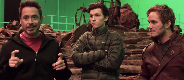"""""""Avengers: Infinity War"""" w zakulisowym wideo"""
