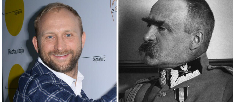 Borys Szyc zagra Józefa Piłsudskiego. Jak aktor prezentuje się w roli marszałka Polski?