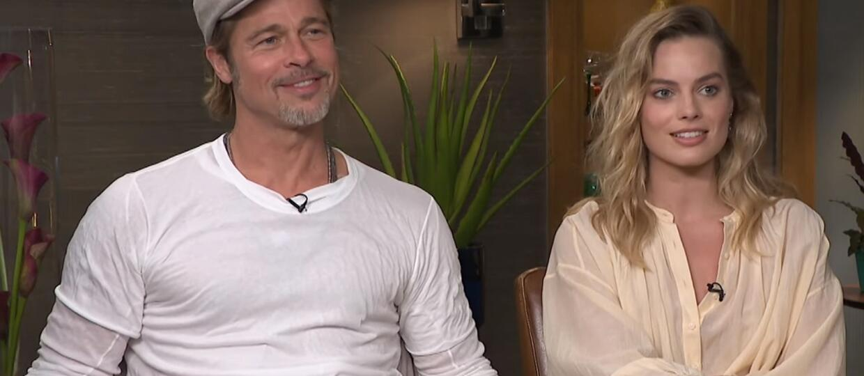 Brad Pitt i Margot Robbie chcą zagrać w kolejnym filmie Quentina Tarantino