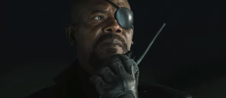"Nick Fury ""Captain Marvel"""