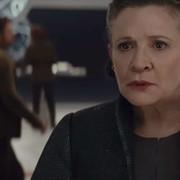 Carrie Fisher jako Leia (Gwiezdne Wojny: Ostatni Jedi)