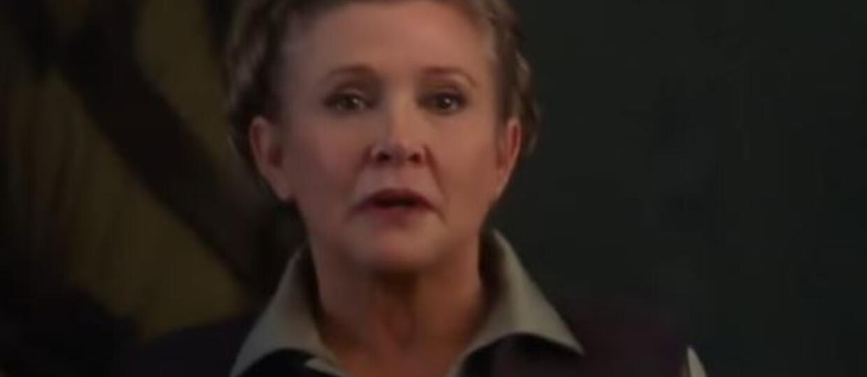 Carrie Fischer, Leia Organa, Gwiezdne Wojny
