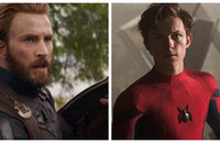 Chris Evans (Avengers: Infinity War) i Tom Holland (Spider-Man: Homecoming)