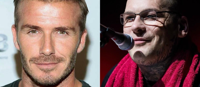 """David Beckham upodobnił się do Popka na potrzeby filmu """"Król Artur: Legenda miecza""""?"""