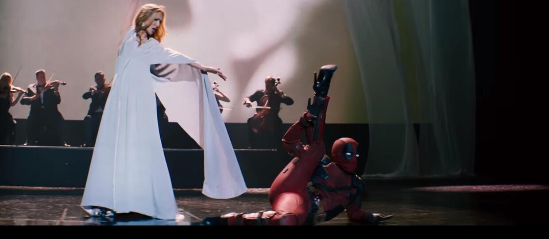 """Deadpool tańczy w szpilkach w nowym klipie Celine Dion promującym film """"Deadpool 2"""""""