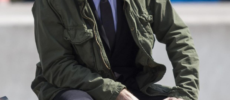 "Ewan McGregor na planie ""Trainspotting 2"""