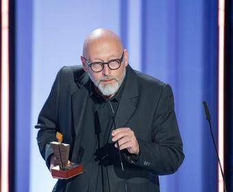 Wojciech Smarzowski na gali festiwalu filmowego w Gdyni