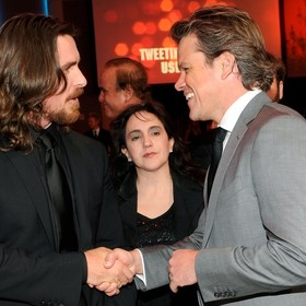 Christian Bale i Matt Damon