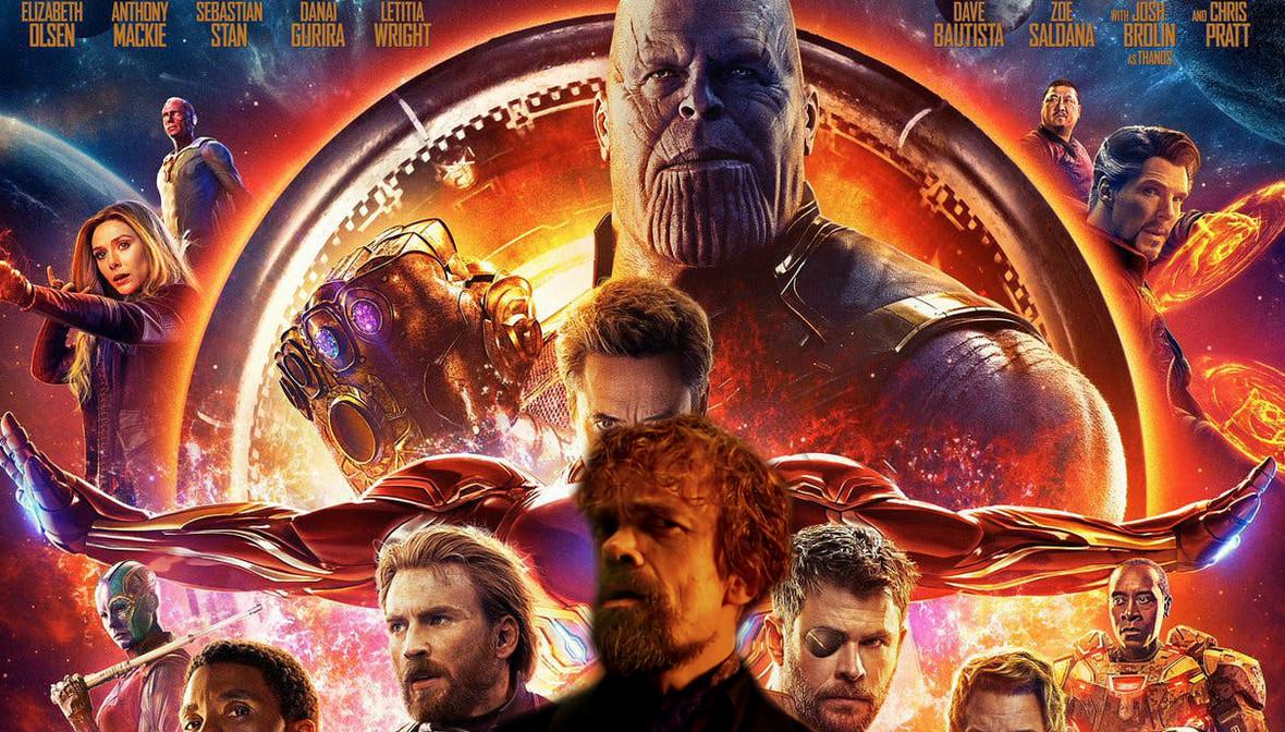 Tyrion Z Gry O Tron W Avengers Infinity War Antyradiopl