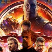 Peter Dinklage, plakat filmu Avengers: Infinity War