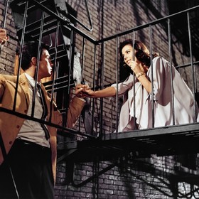 Natalie Wood i Richard Beymer West Side Story