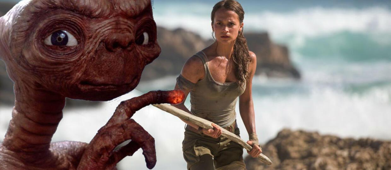 Internauci wyśmiewają nową wersję Lary Croft. Wygląda jak... E.T.!