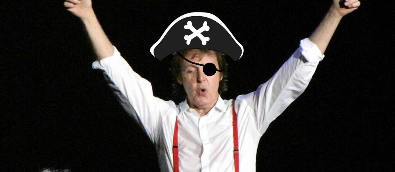 Jak wygląda Paul McCartney jako Pirat z Karaibów?