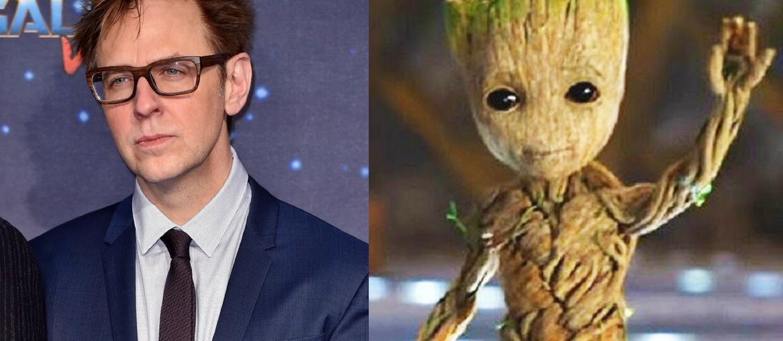 James Gunn i Groot