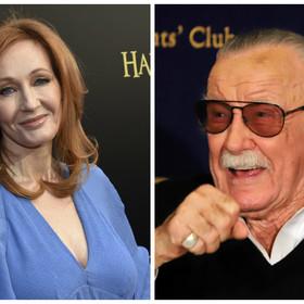 J.K. Rowling i Stan Lee