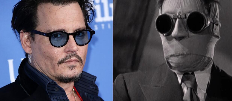 """Johnny Depp będzie """"Niewidzialnym człowiekiem"""""""