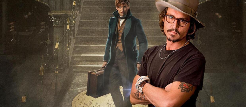 """Johnny Depp w """"Fantastycznych zwierzętach i jak je znaleźć 2"""""""