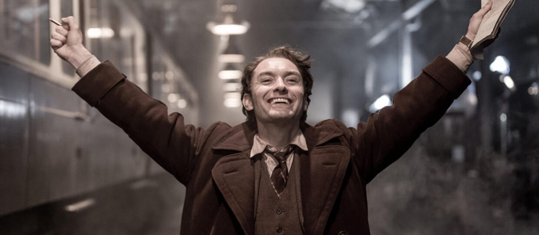 Jude Law młodym Albusem Dumbledorem