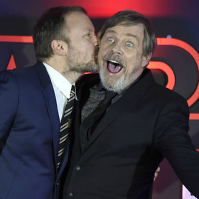 Rian Johnson i Mark Hamill