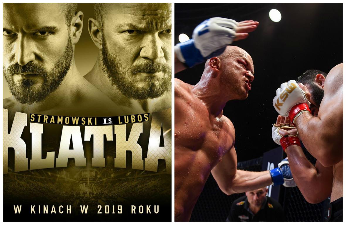 """""""Klatka"""" vs """"Underdog""""! Powstają dwa filmy z Erykiem Lubosem w roli zawodnika MMA"""