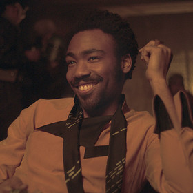 Donald Glover jako Lando Calrissian