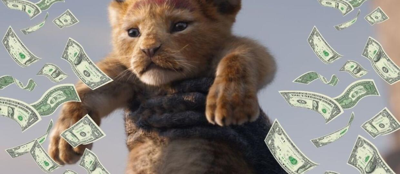 """""""Król Lew"""" zarobił już ponad miliard dolarów w box-offisie. Czy pobije rekord bajek Disneya?"""