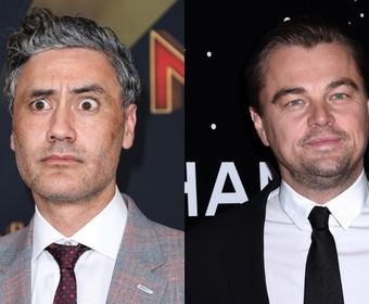 Taika Waititi i Leonardo DiCaprio