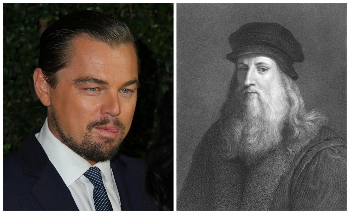 LEonardo Di Caprio zagra Leonardo Da Vinci