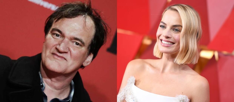 Quentin Tarantino i Margot Robbie