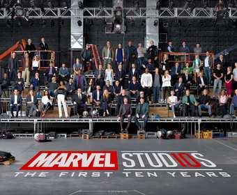 Marvel zdjęcie klasowe