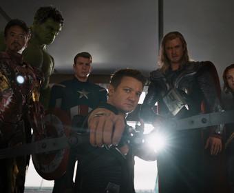 kadr z filmu Avengers