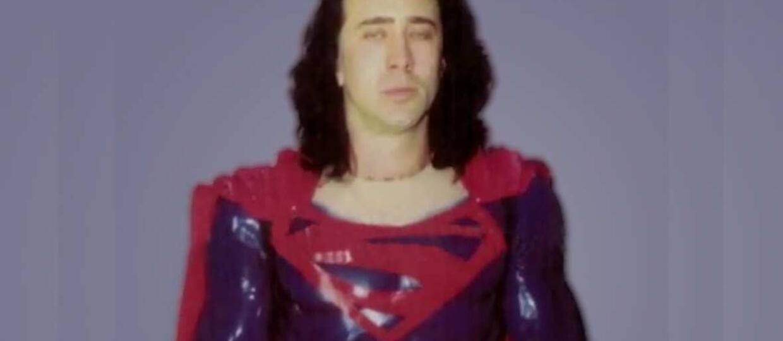 Nicolas Cage jako Superman