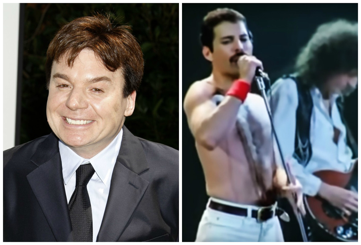 Mike Myers, Freddie Mercury, Queen