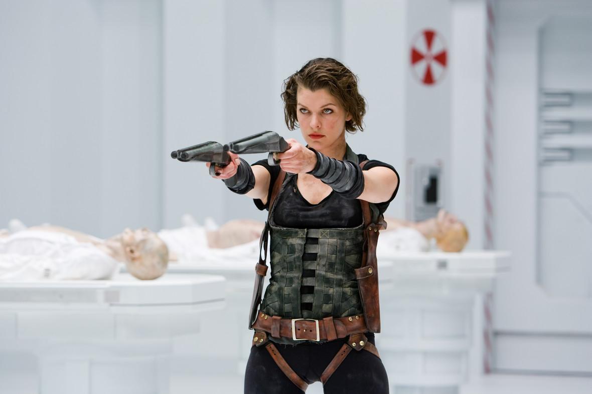 Milla Jovovich w filmie Resident Evil: Retrybucja